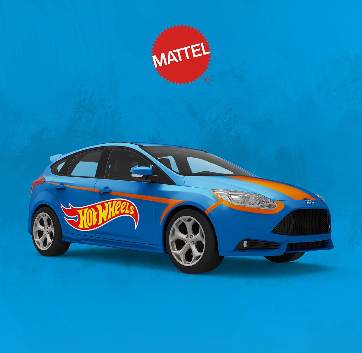 Mattel Hot Wheels Campaign